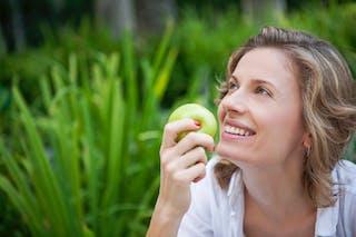 La pomme, riche en pectines
