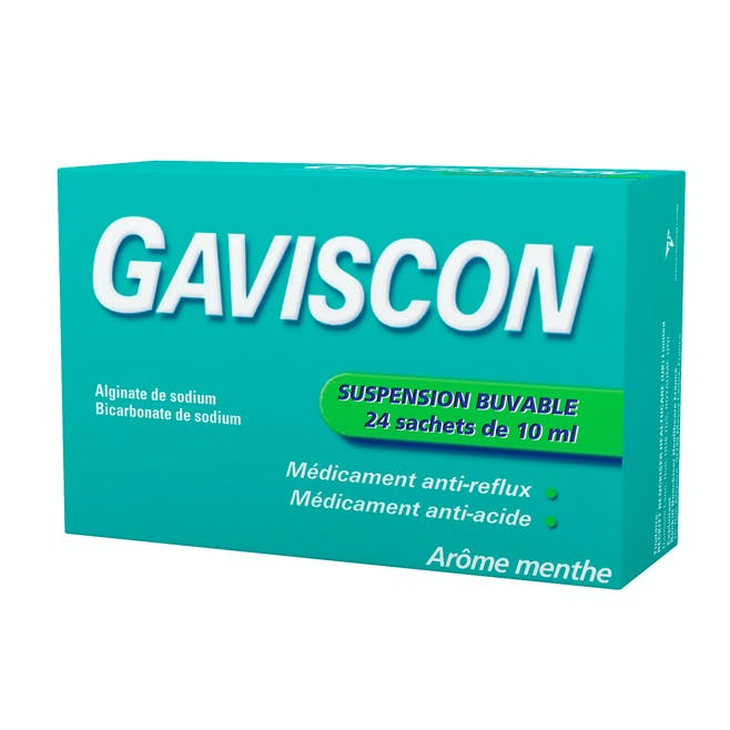 Gaviscon suspension buvable sachets