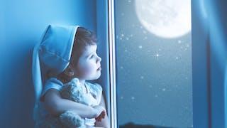 Sommeil : les enfants dorment moins les nuits de pleine lune