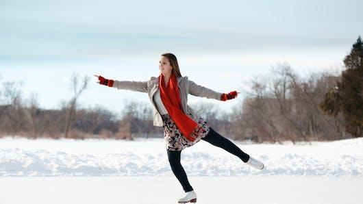 Les bienfaits du patinage sur glace