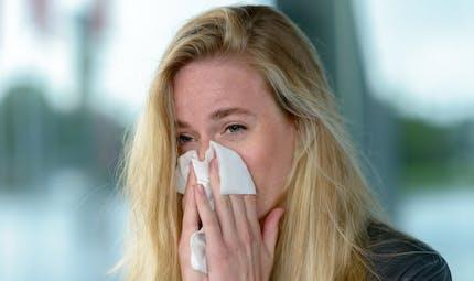 Apaiser une réaction allergique sur le visage