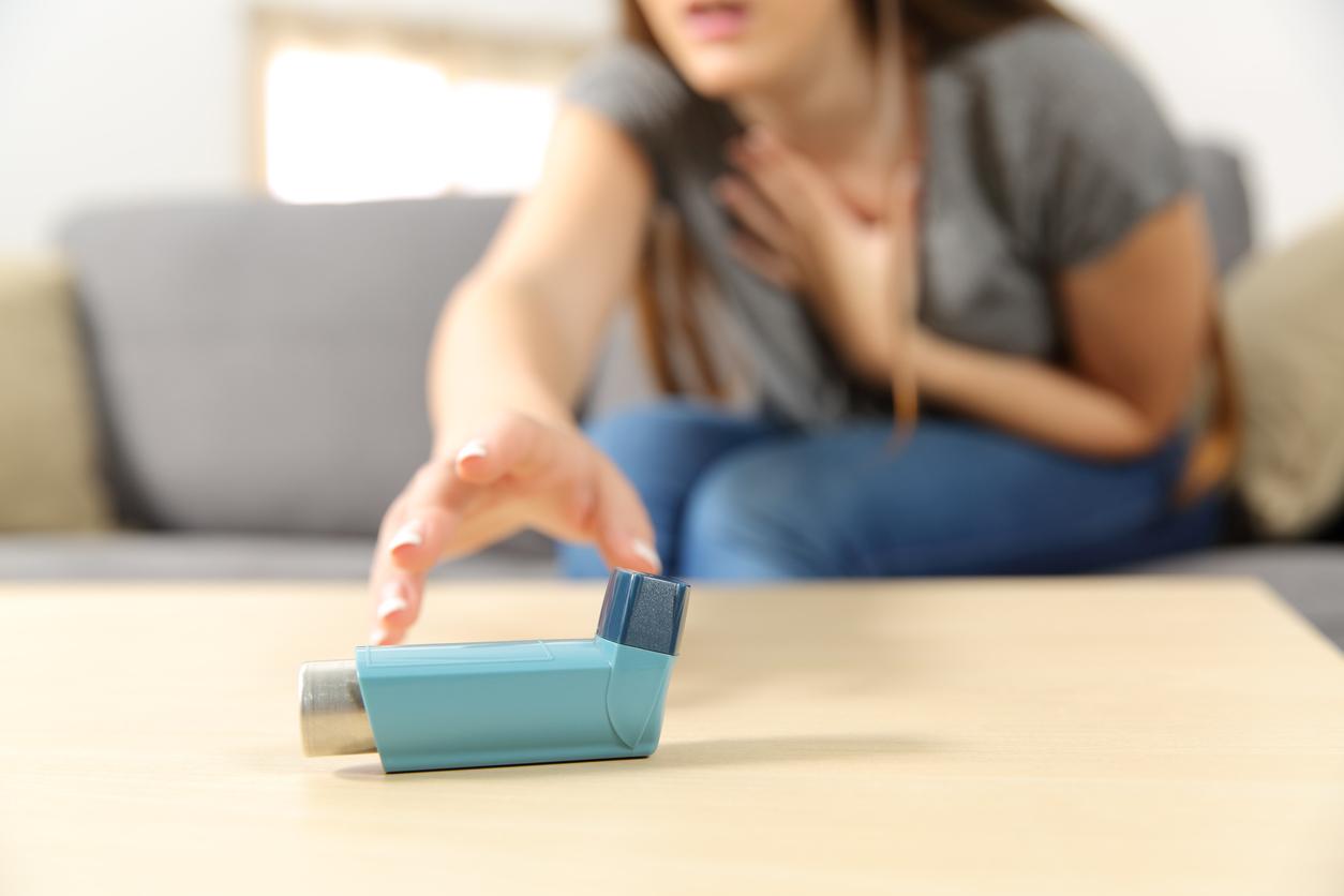 Les bons réflexes en cas de crise d'asthme | Santé Magazine