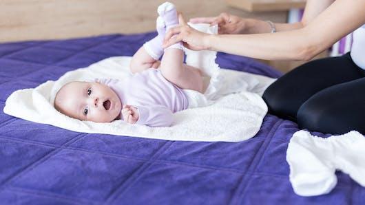 Les alternatives aux lingettes pour bébé