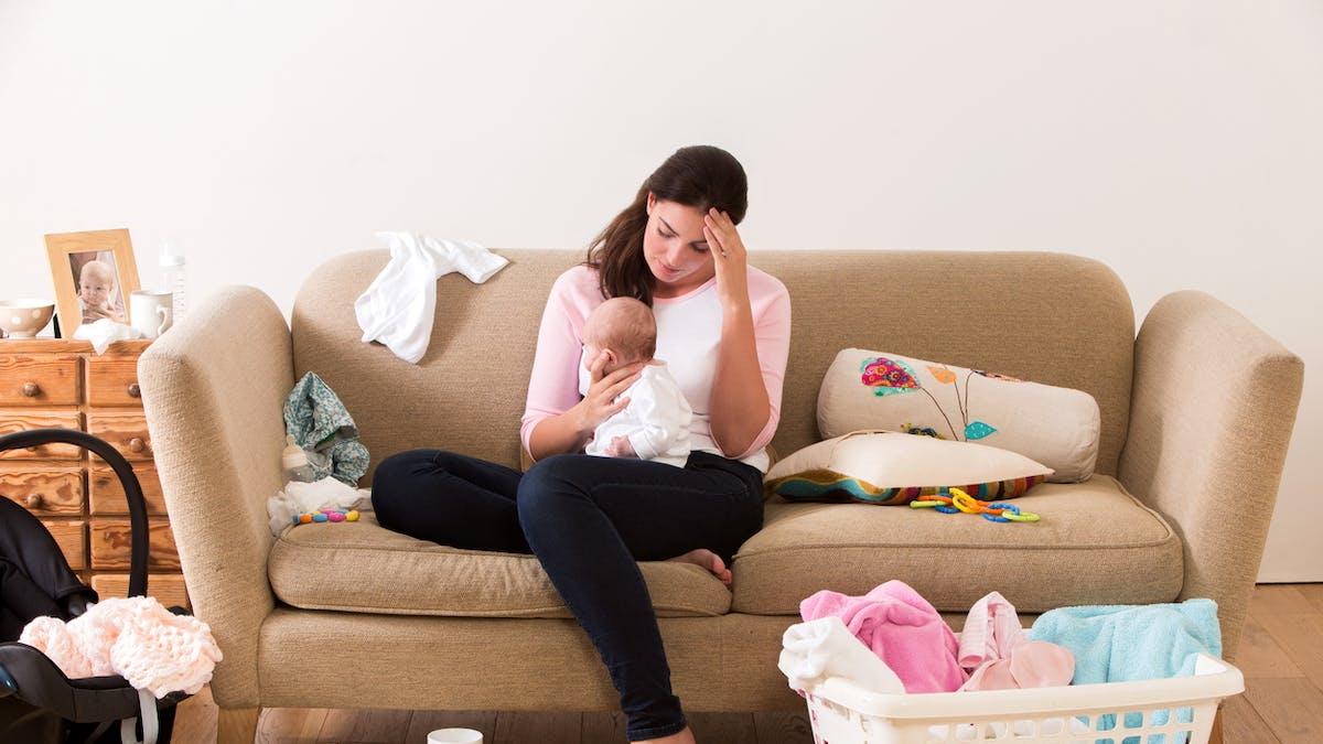 Dépression post-partum : 5 signes à surveiller