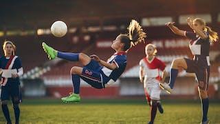 Joueuses de foot
