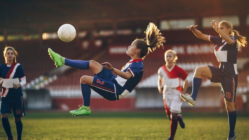 Football féminin : les blessures sont différentes de celles des footballeurs