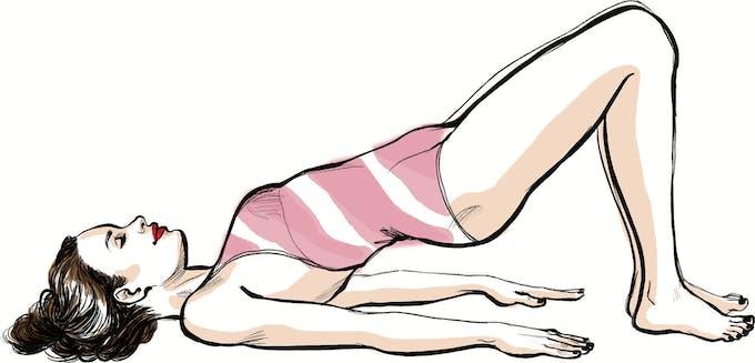 Exercice 1 pour fesses fermes