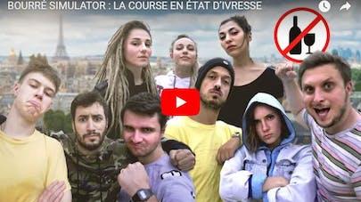 Abus d'alcool : des youtubeurs français s'engagent avec un défi