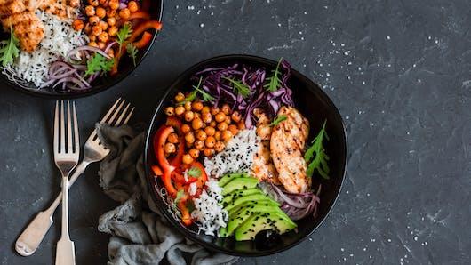 Comment composer une salade équilibrée