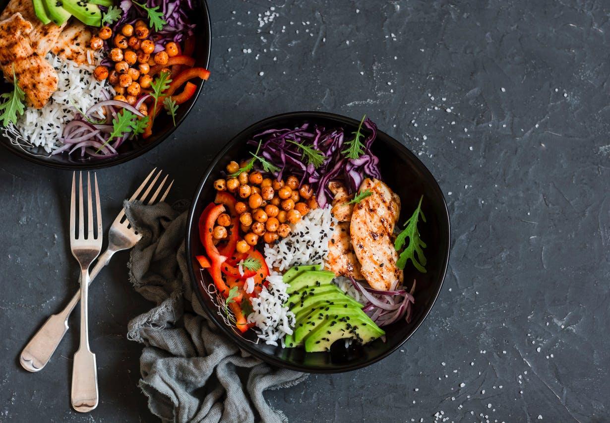 Idée Repas Pour Deux Amoureux quelle composition pour une salade équilibrée ? | santé magazine