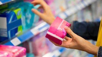 Des substances toxiques dans les protections hygiéniques