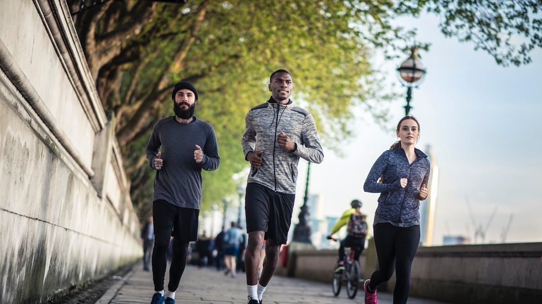 Le sport, bénéfique pour le coeur même en cas de pollution