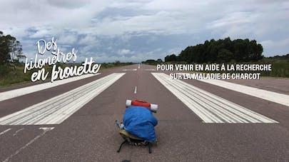 Maladie de Charcot : 700 km en brouette pour récolter des fonds