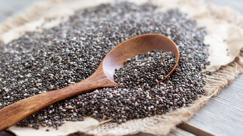 5 bénéfices des graines de chia
