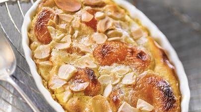 Petits clafoutis abricots secs et amandes
