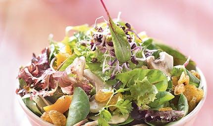 Salade salée-sucrée à l'huile de noix