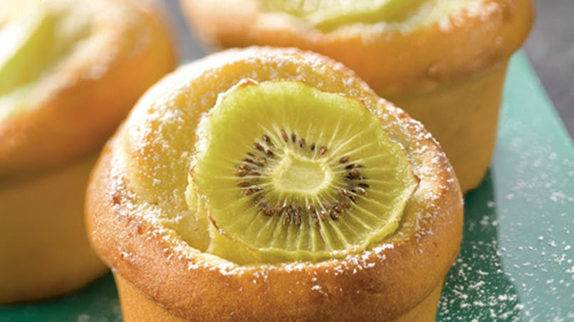 Gâteau au yaourt et au kiwi