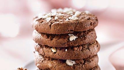 Cookies cacao et noix du Brésil