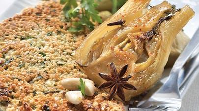 Escalope de veau panée aux amandes