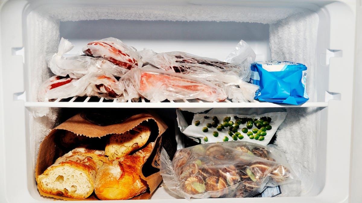 7 aliments à ne jamais congeler