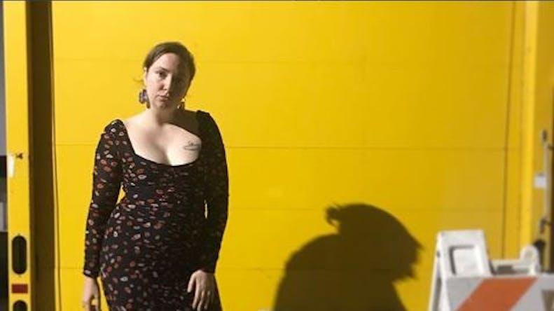 Lena Dunham se fait retirer l'ovaire gauche à cause de son endométriose
