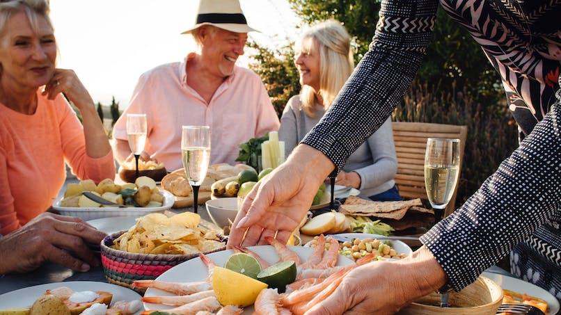 Manger des fruits de mer aiderait à vieillir en meilleure santé