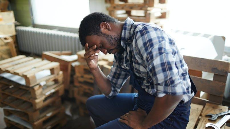En France, plus d'un actif sur cinq présente une détresse mentale