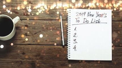 10 bonnes résolutions pour la nouvelle année