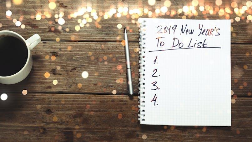 2019: 10 bonnes résolutions