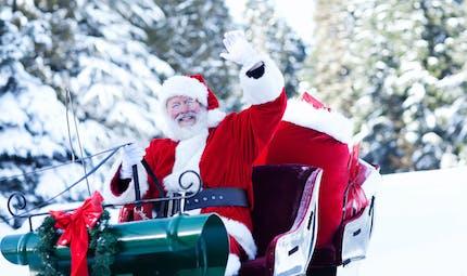 Père Noël : pourquoi sa peau est mise à rude épreuve