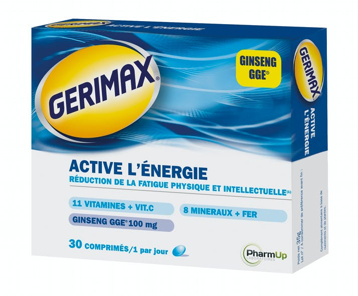 Gerimax Active l'énergie