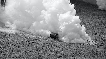 Gaz lacrymogène: quels risques pour la santé ?