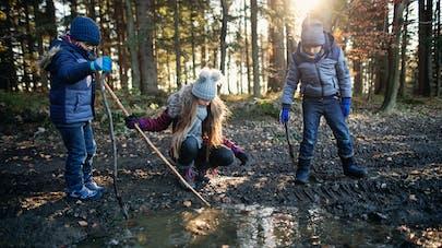 Hyperactivité : la connexion avec la nature pour apaiser les enfants