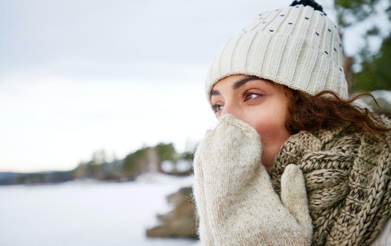 femme et froid