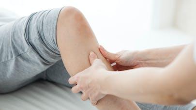 massage du genou
