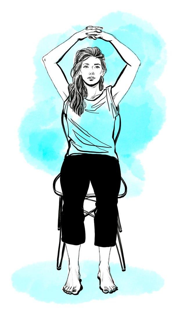 Etirer son épaule - exercice 2