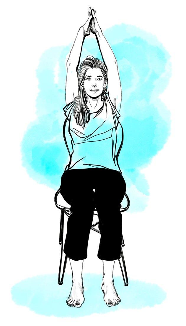 Etirer son épaule - exercice 2 suite