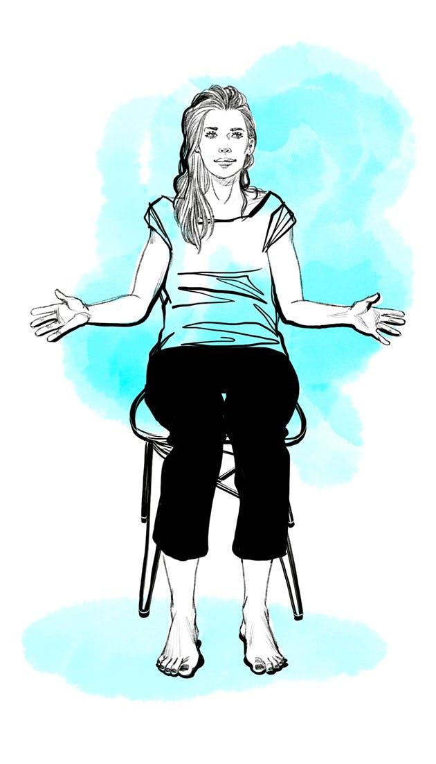 Etirer son épaule - exercice 3 suite