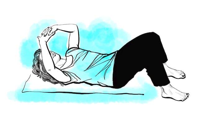 Etirer son épaule - exercice 1