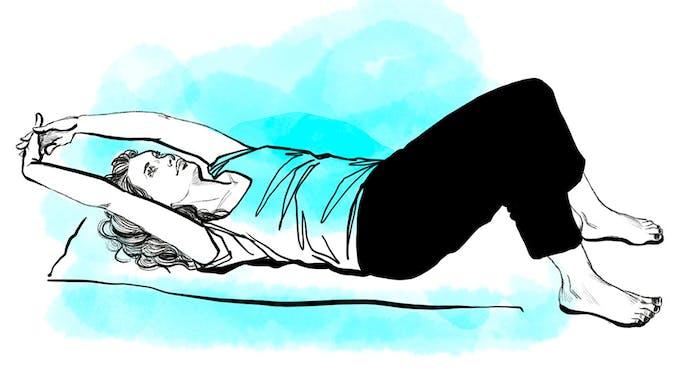 Etirer son épaule - exercice 1 suite