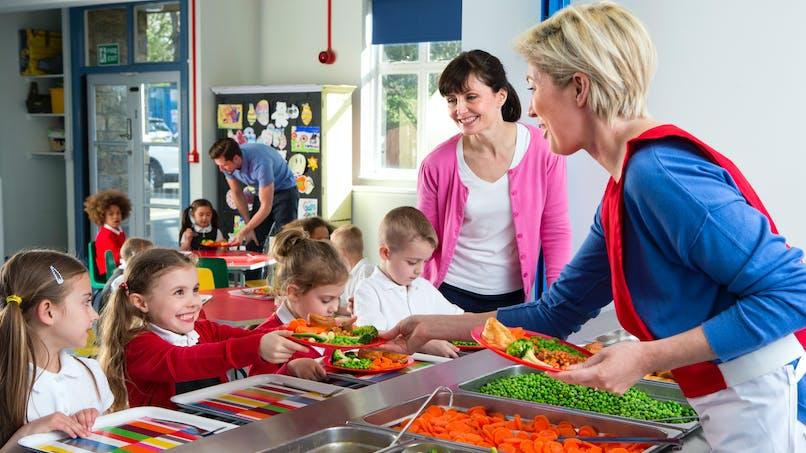 Cantines scolaires : des repas  végétariens dès la rentrée de 2019