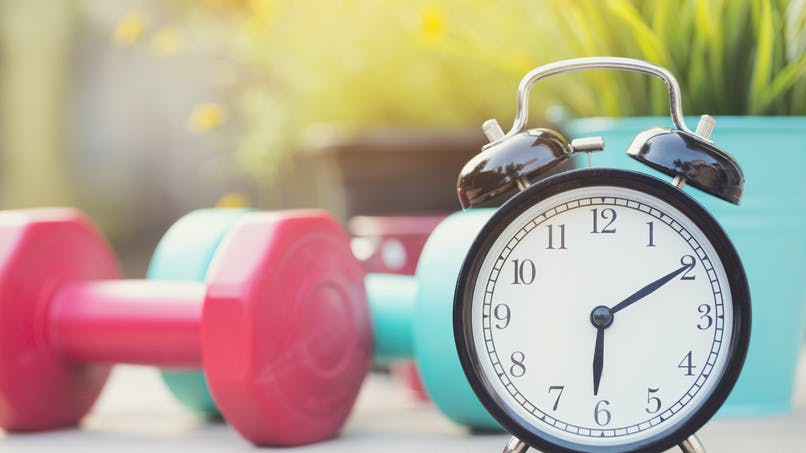 Décaler son créneau d'exercice aiderait à composer avec le décalage horaire