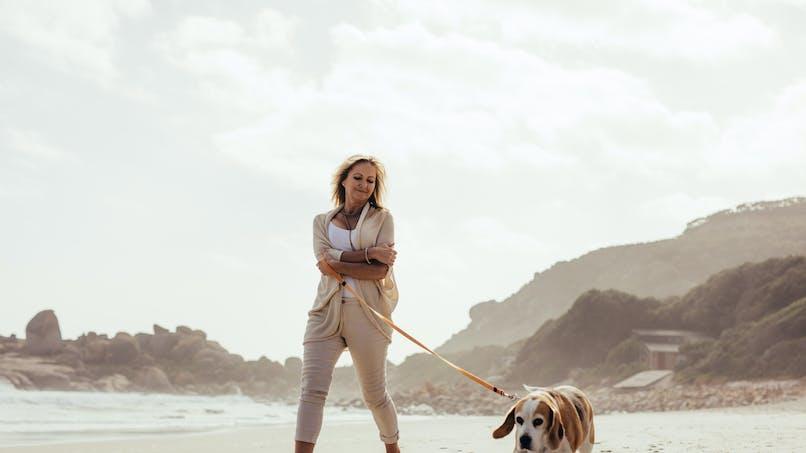 Promenade du chien :  attention aux fractures chez les seniors