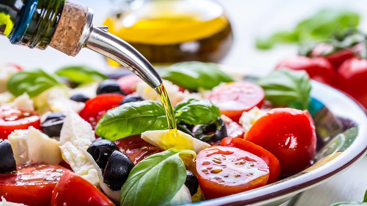 """«Mangez """" méditerranéen pour faire du bien à votre santé"""
