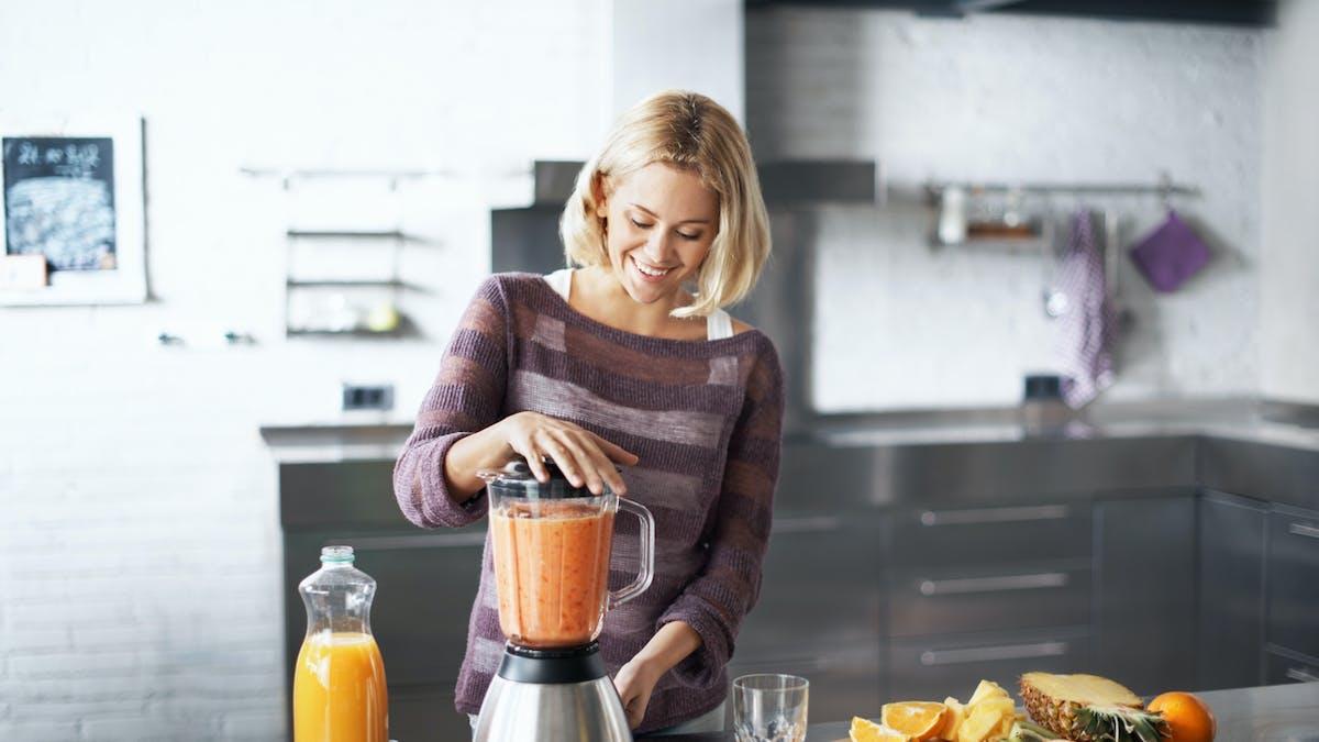 Comment préparer un smoothie pour le petit-déjeuner