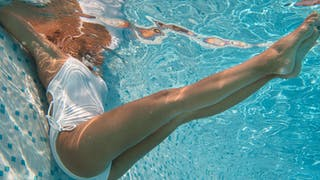 Des exercices de gym spécial jambes lourdes