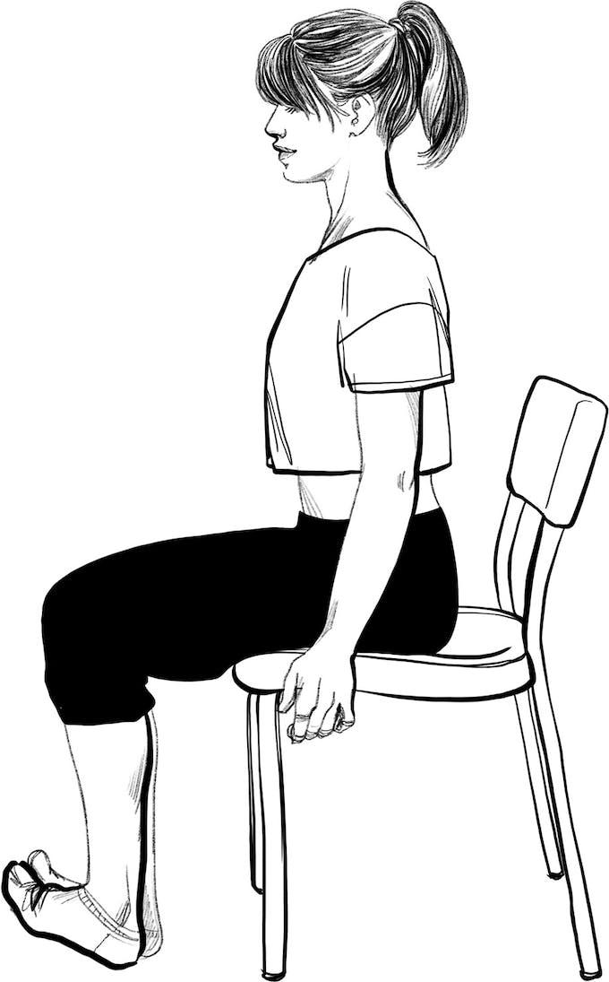 exercice gym 5 jambes lourdes