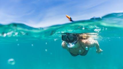 La nage en mer modifie le microbiote de la peau