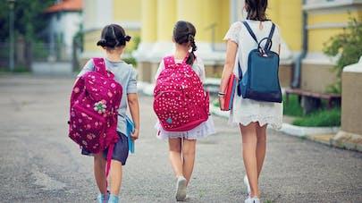 Enfants : quel poids maximum pour le cartable ?