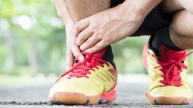 Des exercices pour soulager une tendinite du talon d'Achille